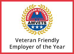 AMVETS Veteran Friendly Employer of the Year